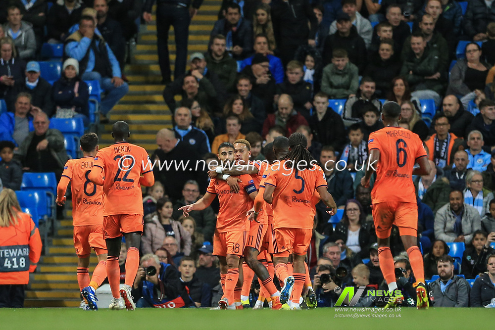 Uefa Champions League Manchester City V Lyon News Images