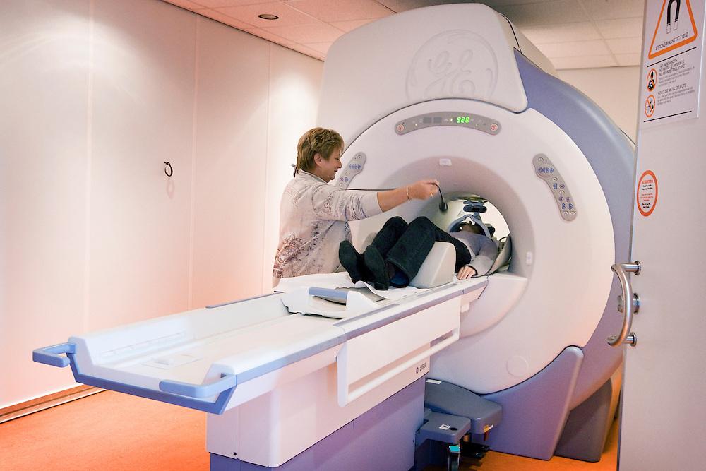 Nederland. Rotterdam, 31 oktober 2007.<br /> medisch scanprogramma in rotterdam, mri scan, voor kennis<br /> Foto Martijn Beekman <br /> NIET VOOR TROUW, AD, TELEGRAAF, NRC EN HET PAROOL