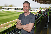 Forest Green Rovers Chairman Dale Vince during the EFL Sky Bet League 2 match between Forest Green Rovers and Cambridge United at the New Lawn, Forest Green, United Kingdom on 22 April 2019.