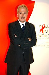 A party hosted by Mario Testino, Bianca Jagger and Kenneth Cole in collaboration with UNFPA and Marie Stopes International to celebrate the publication of Women to Woman: Positively Speaking - a book to raise awareness of women living with HIV/Aids, held at The Orangery, Kensington Palace, London on 2nd December 2004.<br />Picture shows photographer MARIO TESTINO.<br /><br />NON EXCLUSIVE - WORLD RIGHTS