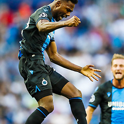 Emmanuel Dennis of Club Brugge KV during the UEFA Champions League group A match between Real Madrid and Club Brugge at the Santiago Bernabeu stadium on October 01, 2019 in Madrid, Spain .Photo by Icon Sport - Stade Santiago-Bernabeu - Madrid (Espagne)