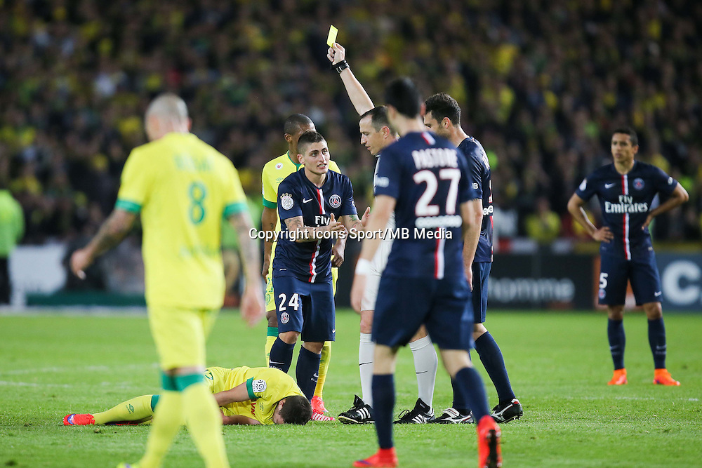 Marco VERRATTI - 03.05.2015 - Nantes / Paris Saint Germain - 35eme journee de Ligue 1<br /> Photo : Vincent Michel / Icon Sport