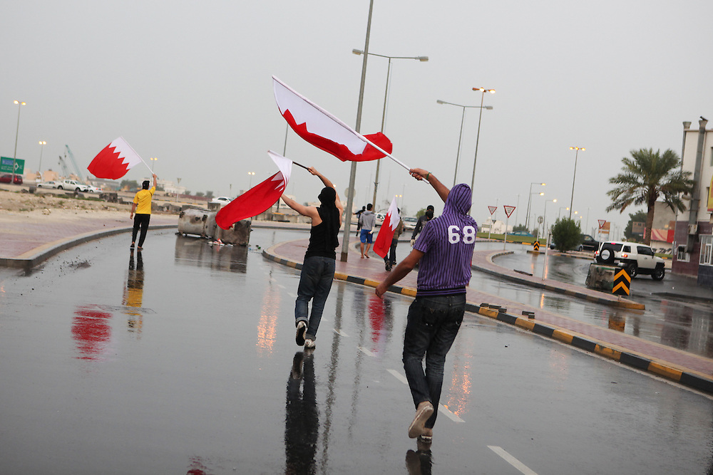 Bahrainis commemorate the three day period following the death of Abdulnabi Kadhem in Aali village. Kadhem was killed when his car was struck by a speeding police Land Cruiser.