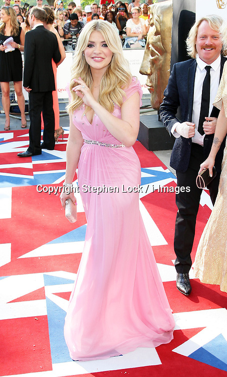 Holly Willoughby arriving at the British Academy Television Awards in London, Sunday , 27th May 2012.  Photo by: Stephen Lock / i-Images