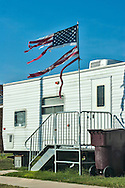 Fema Trailer in New Orleans over a year after Hurricane Katrina