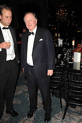 Right, ANDREW PARKER-BOWLES at the 20th annual Cartier Racing Awards - the most prestigious award ceremony within European horseracing, held at The Dorchester Hotel, Park Lane, London on 16th November 2010.