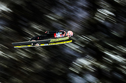 19.01.2018, Heini Klopfer Skiflugschanze, Oberstdorf, GER, FIS Skiflug Weltmeisterschaft, Einzelbewerb, im Bild Manuel Poppinger (AUT) // Manuel Poppinger of Austria during individual competition of the FIS Ski Flying World Championships at the Heini-Klopfer Skiflying Hill in Oberstdorf, Germany on 2018/01/19. EXPA Pictures © 2018, PhotoCredit: EXPA/ JFK