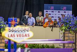 Fuchs Martin, Fuchs Thomas, Kistler Andy, SUI<br /> World Cup Final Jumping - Las Vegas 2015<br /> © Hippo Foto - Dirk Caremans<br /> 19/04/2015