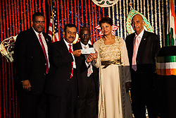 The India Association of the Virgin Islands fulfills their pledge of $100,000 to the Charlotte Kimmelman Cancer Center by giving a final payment of $25,000.00 to Ms. Angela Rennalls-Atkinson, Interim CEO.   The India Association of the Virgin Islands 66th Independence Day Celebration. Friday September 7, 2012. Marriott's Frenchman's Reef Resort.  © Aisha-Zakiya Boyd