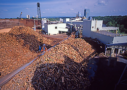 Logs Being Unloaded, Paper Mill