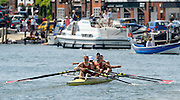 Henley on Thames. United Kingdom. Marlow Rowing Club 'A' beat Sir William Borlase's Grammar School2013 Henley Royal Regatta, Henley Reach.  Wednesday  03/07/2013  [Mandatory Credit Peter Spurrier/ Intersport Images]