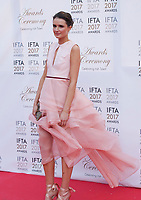 Charleigh Bailey, at the 2017 IFTA Film & Drama Awards at the Round Room of the Mansion House, Dublin,  Ireland Saturday 8th April 2017.