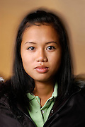 Kannitha Sith, a Cambodian Posse student from Chicago and undergraduate at the University of Wisconsin-Madison, is pictured on April 22, 2005. The Posse Foundation identifies, recruits and trains youths with leadership skills from urban public high schools and places them in academically supportive, multi-cultural teams (posses') at top colleges and universities.