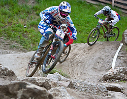 12.06.2011, Bikepark, Leogang, AUT, UCI MOUNTAINBIKE WORLDCUP, LEOGANG, im Bild Michal Prokop, CZE // during the UCI MOUNTAINBIKE WORLDCUP, LEOGANG, AUSTRIA, 2011-06-12, EXPA Pictures © 2011, PhotoCredit: EXPA/ J. Feichter