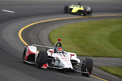 August 19, 2018 - Long Pond, Pennsylvania, United Stated - MARCO ANDRETTI (98) of the United States take to the track for the ABC Supply 500 at Pocono Raceway in Long Pond, Pennsylvania. (Credit Image: © Chris Owens Asp Inc/ASP via ZUMA Wire)