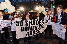 2015-02-12 Protest against abuse of women at Fifty Shades of Grey premiere
