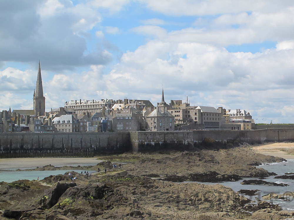 Saint-Malo is a walled port city in Brittany in northwestern France on the English Channel. Photo: Tuuli Sauren / Inspirit International Communications