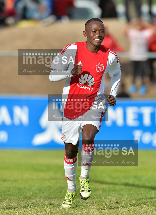 CAPE TOWN, SOUTH AFRICA - Sunday 27 March 2016, Masilake Phohlongo of Ajax Cape Town during the semi final match between Ajax Cape Town and Ikapa Sporting during the fifth day of the Metropolitan U19 Premier Cup at Erica Park in Belhar. <br /> Photo by Roger Sedres/ImageSA