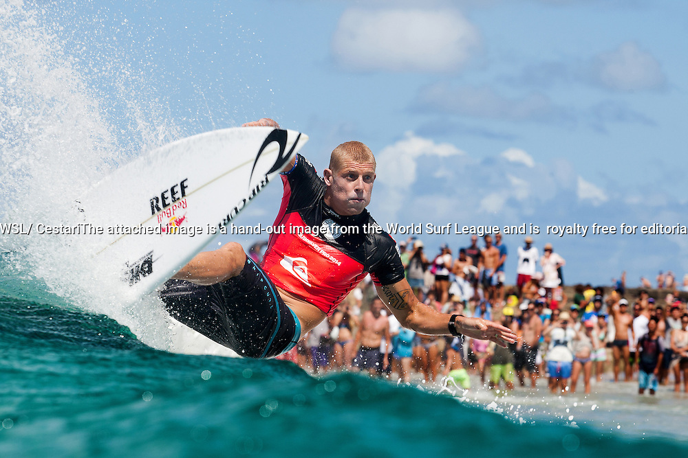 Mick Fanning of Australia (pictured), three-time WSL Champion and 2015 WSL Runner-Up, last week announced that he would be taking a 'personal year' in 2016, surfing in select events. Fanning will be competing at the opening stop the Quiksilver Pro Gold Coast from March 10 - 21, 2016.