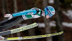 04.02.2017, Heini Klopfer Skiflugschanze, Oberstdorf, GER, FIS Weltcup Ski Sprung, Oberstdorf, Skifliegen, im Bild Michael Hayboeck (AUT) // Michael Hayboeck of Austria during mens FIS Ski Flying World Cup at the Heini Klopfer Skiflugschanze in Oberstdorf, Germany on 2017/02/04. EXPA Pictures © 2017, PhotoCredit: EXPA/ Peter Rinderer