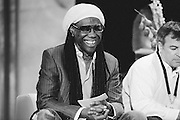 Photo of guitarist/ producer Nile Rodgers of the band Chic taken at New Music Seminar 2014 in New York, NY on June 9, 2014. Copyright © 2014. Matthew Eisman. All Rights Reserved