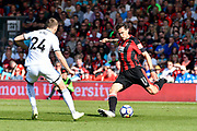 Charlie Daniels (11) of AFC Bournemouth on the attack during the Premier League match between Bournemouth and Swansea City at the Vitality Stadium, Bournemouth, England on 5 May 2018. Picture by Graham Hunt.