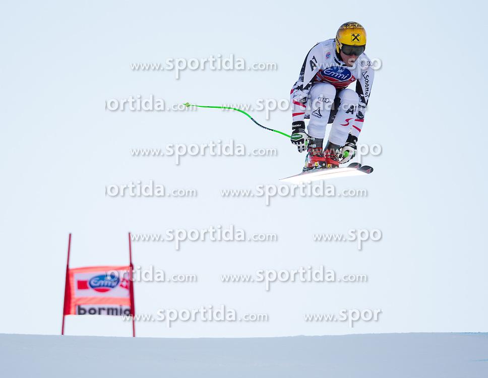 28.12.2013, Stelvio, Bormio, ITA, FIS Ski Weltcup, Bormio, Abfahrt, Herren, 2. Traininglauf, im Bild Max Franz (AUT) // Max Franz of Austria in action during mens 2nd downhill practice of the Bormio FIS Ski Alpine World Cup at the Stelvio Course in Bormio, Italy on 2012/12/28. EXPA Pictures © 2013, PhotoCredit: EXPA/ Johann Groder