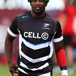DURBAN, SOUTH AFRICA - MARCH 26: Lwazi Mvovo of the Cell C Sharks during the Super Rugby match between Cell C Sharks and BNZ Crusaders at Growthpoint Kings Park on March 26, 2016 in Durban, South Africa. (Photo by Steve Haag)<br /> <br /> images for social media must have consent from Steve Haag