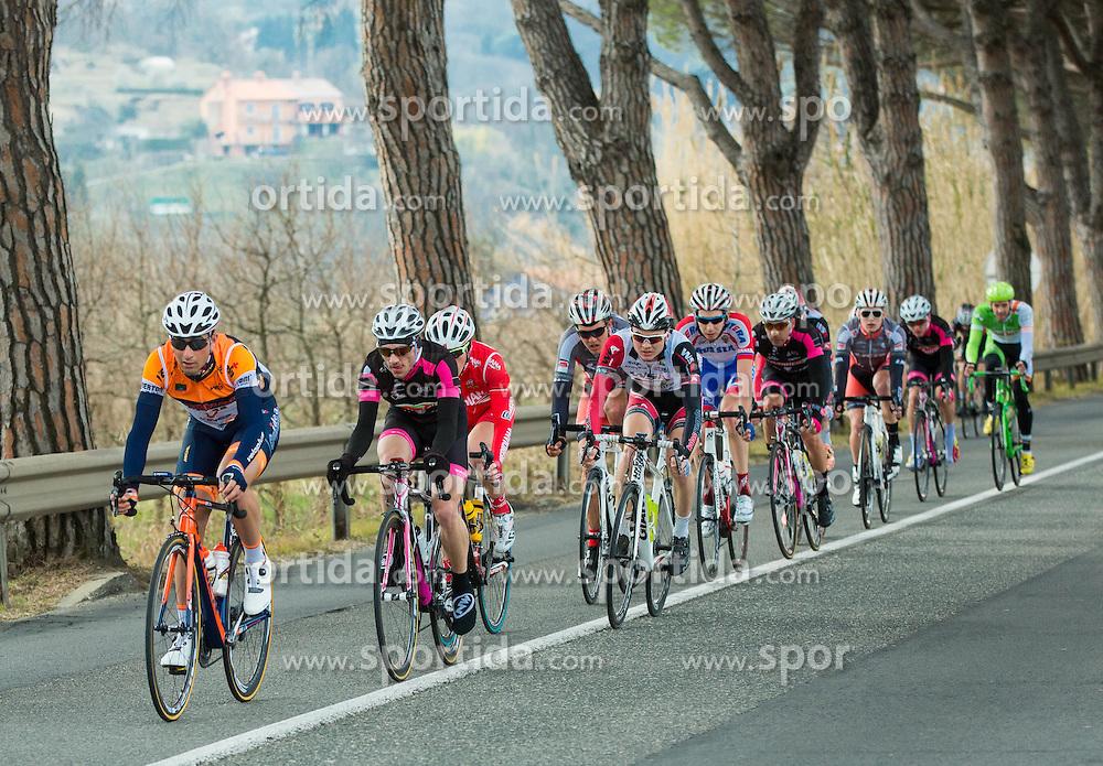 Peloton during UCI Class 1.2 professional race 2nd Grand Prix Izola, on March 1, 2015 in Izola / Isola, Slovenia. Photo by Vid Ponikvar / Sportida