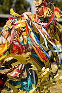 Crow Fair Powwow, Grass Dancer, Crow Indian Reservation, Montana