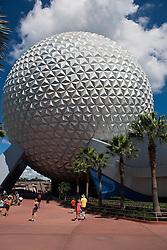Spaceship Earth, Epcot Center, Walt Disney World Resort, Orlando, Florida, United States of America