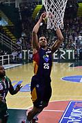 DESCRIZIONE : Campionato 2014/15 Sidigas Scandone Avellino - Virtus Acea Roma<br /> GIOCATORE : Jordan Morgan<br /> CATEGORIA : Schiacciata<br /> SQUADRA : Virtus Acea Roma<br /> EVENTO : LegaBasket Serie A Beko 2014/2015<br /> GARA : Sidigas Scandone Avellino - Virtus Acea Roma<br /> DATA : 13/12/2014<br /> SPORT : Pallacanestro <br /> AUTORE : Agenzia Ciamillo-Castoria / GiulioCiamillo<br /> Galleria : LegaBasket Serie A Beko 2014/2015<br /> Fotonotizia : Campionato 2014/15 Sidigas Scandone Avellino - Virtus Acea Roma<br /> Predefinita :Predefinita :