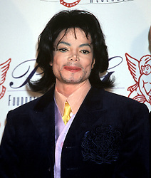 Nov 30, 2000; New York, New York, USA; 'King of Pop' MICHAEL JACKSON attends the Angel Ball which benefits the G&P Foundation for Cancer Research held @ the Marriott Marquis Hotel. (Credit Image: © Nancy Kaszerman/ZUMAPRESS.com)