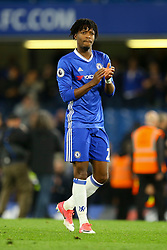 Nathaniel Chalobah of Chelsea applauds the fans - Mandatory by-line: Jason Brown/JMP - 08/05/17 - FOOTBALL - Stamford Bridge - London, England - Chelsea v Middlesbrough - Premier League