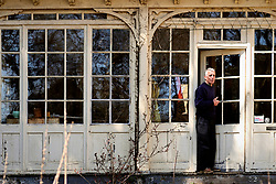 Greg Paulmier, at his home in Germantown, on April 1, 2019. (Bastiaan Slabbers for WHYY)