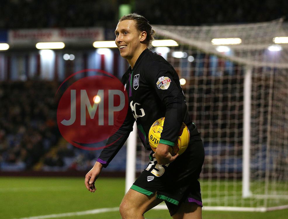 Luke Freeman of Bristol City  - Mandatory byline: Matt McNulty/JMP - 07966 386802 - 28/12/2015 - FOOTBALL - Turf Moor - Burnely, England - Burnley v Bristol City - Sky Bet Championship