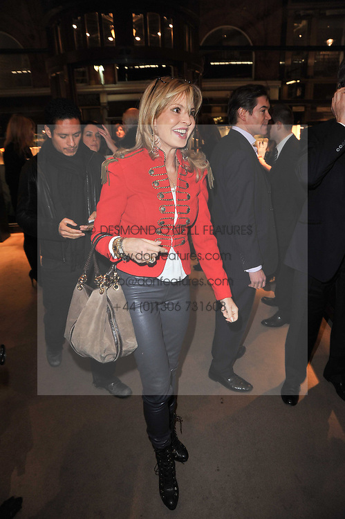 COUNTESS MAYA VON SCHONBURG at a party to celebrate the launch of Simon Sebag-Montefiore's new book - 'Jerusalem: The Biography' held at Asprey, 167 New Bond Street, London on 26th January 2011.