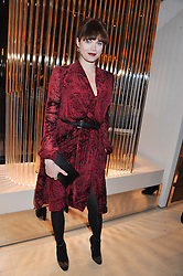 JASMINE GUINNESS at the Salvatore Ferragamo Old Bond Street Boutique Store Launch on 5th December 2012.