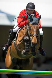 Estermann Paul (SUI) - Castlefield Eclipse<br /> Grand Prix Longines de la Ville de La Baule<br /> Longines Jumping International La Baule 2014<br /> © Hippo Foto - Dirk Caremans