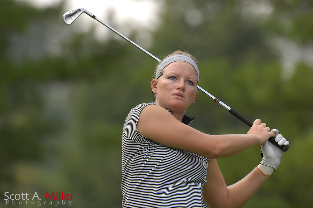 Nicole Smith during the first round of stroke play at the U.S. Women's Amateur at Crooked Stick Golf Club on Aug. 6, 2007 in Carmel, Ind.    ...©2007 Scott A. Miller