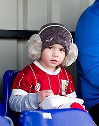 Young supporter at Stoke Gifford Stadium - Mandatory by-line: Paul Knight/JMP - 28/10/2017 - FOOTBALL - Stoke Gifford Stadium - Bristol, England - Bristol City Women v Reading Women - FA Women's Super League