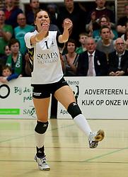 12-04-2014 NED: Finale vv Alterno - Sliedrecht Sport, Apeldoorn<br /> Alterno pakt het kampioenschap door Sliedrecht voor de derde maal te verslaan / Rosita Blomenkamp