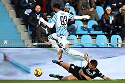 """Foto Filippo Rubin<br /> 01/12/2018 Ferrara (Italia)<br /> Sport Calcio<br /> Spal - Empoli - Campionato di calcio Serie A 2018/2019 - Stadio """"Paolo Mazza""""<br /> Nella foto: MOHAMED FARES (SPAL)<br /> <br /> Photo Filippo Rubin<br /> December 01, 2018 Ferrara (Italy)<br /> Sport Soccer<br /> Spal vs Empoli - Italian Football Championship League A 2018/2019 - """"Paolo Mazza"""" Stadium <br /> In the pic: MOHAMED FARES (SPAL)"""