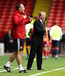 Newcastle United manager Steve McClaren barks out instructions - Mandatory by-line: Robbie Stephenson/JMP - 26/07/2015 - SPORT - FOOTBALL - Sheffield,England - Bramall Lane - Sheffield United v Newcastle United - Pre-Season Friendly