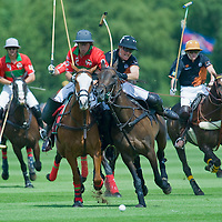 LONDON, ENGLAND - JUNE 14:  The Hardcourt Developments Queen'S Cup Final of Polo at Windsor Guards Polo Club on June 14, 2009 in Windsor, England.  The final  being played by Sumaya vs Apes Hill  (Photo by Marco Secchi/Getty Images)