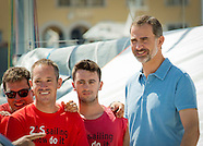 King Felipe attends Copa del Rey at Palma de Mallorca, 03-8-2015