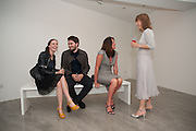 LAUREN JONES; ALEX COLLISHAW; TRICIA RONANE; EMMA ROBERTSHAW, Pilar Ordovas hosts a Summer Party in celebration of Calder in India, Ordovas, 25 Savile Row, London 20 June 2012