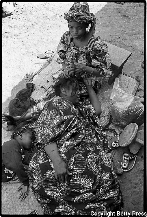 The wise do not comb themselves; if they do, they get hurt.  Ugandan proverb <br />