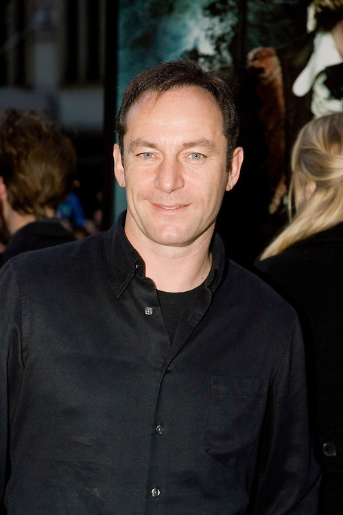 Actor Jason Isaacs poses at the premiere of the film 'Harry Potter and The Goblet of Fire' in  New York City Saturday 12 November 2005.