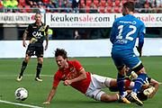 Joris van Overeem of AZ Alkmaar, Mark Birighitti of NAC Breda
